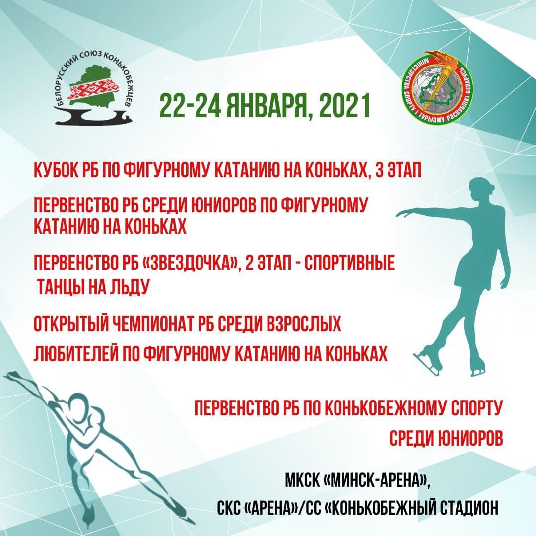Соревнования по фигурному катанию на коньках и конькобежному спорту (22-24 января)